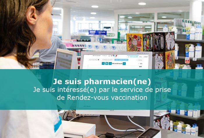gestion de prise de rdv vaccin COVID19 pharmacie
